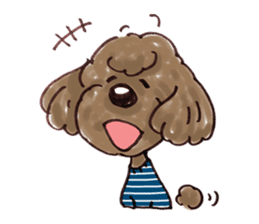Toy poodle of all sticker #4547471