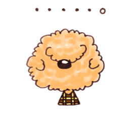 Toy poodle of all sticker #4547472