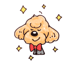 Toy poodle of all sticker #4547478