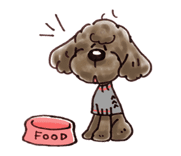 Toy poodle of all sticker #4547499