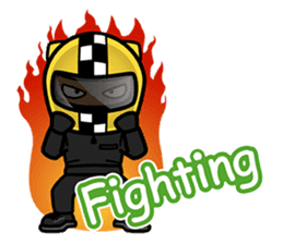 Biker King. (Eng) sticker #4549025
