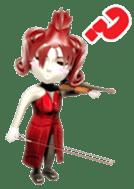 Musician sticker 3D sticker #4550006