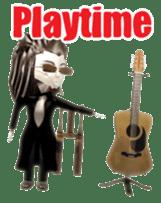 Musician sticker 3D sticker #4550008
