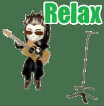 Musician sticker 3D sticker #4550009