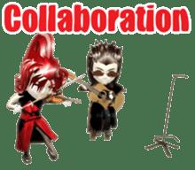 Musician sticker 3D sticker #4550012