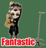 Musician sticker 3D sticker #4550017