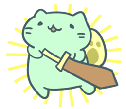 Maid Cat by Mitchiri Neko sticker #4552552
