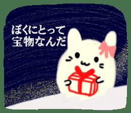 Night sky-Snow world sticker #4558640