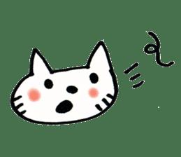 Dentist visits cat sticker #4559160