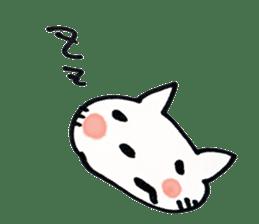 Dentist visits cat sticker #4559167
