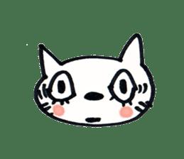 Dentist visits cat sticker #4559172