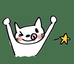 Dentist visits cat sticker #4559177