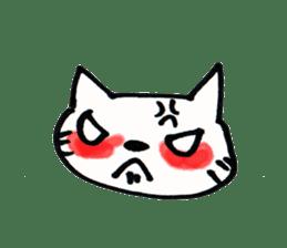 Dentist visits cat sticker #4559179
