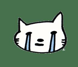 Dentist visits cat sticker #4559180