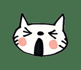 Dentist visits cat sticker #4559181