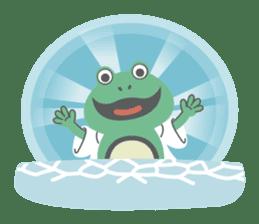 huubHR Frog and Tadpole sticker #4561712