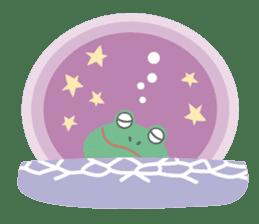 huubHR Frog and Tadpole sticker #4561713