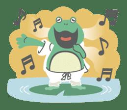 huubHR Frog and Tadpole sticker #4561717