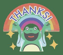 huubHR Frog and Tadpole sticker #4561728