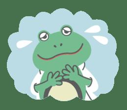 huubHR Frog and Tadpole sticker #4561729