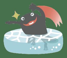 huubHR Frog and Tadpole sticker #4561736