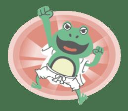huubHR Frog and Tadpole sticker #4561741