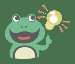 huubHR Frog and Tadpole sticker #4561742