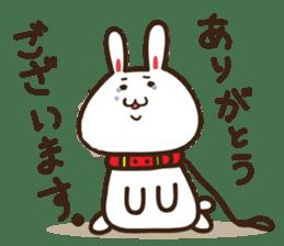 Happy cat and Rabbit sticker #4561912