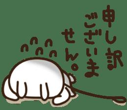 Happy cat and Rabbit sticker #4561913