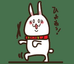Happy cat and Rabbit sticker #4561917