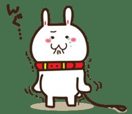 Happy cat and Rabbit sticker #4561918