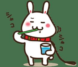 Happy cat and Rabbit sticker #4561940