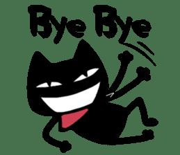 Bad Cat Man sticker #4562169