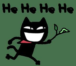 Bad Cat Man sticker #4562179