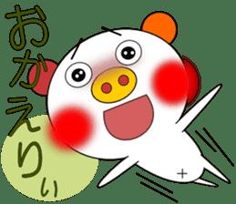 LOVE LOVE Pig 3 sticker #4562553