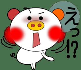 LOVE LOVE Pig 3 sticker #4562554