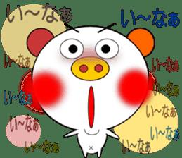 LOVE LOVE Pig 3 sticker #4562561