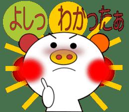 LOVE LOVE Pig 3 sticker #4562565