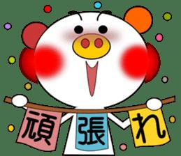 LOVE LOVE Pig 3 sticker #4562569
