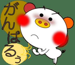 LOVE LOVE Pig 3 sticker #4562570