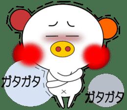 LOVE LOVE Pig 3 sticker #4562573
