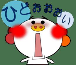 LOVE LOVE Pig 3 sticker #4562576