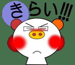 LOVE LOVE Pig 3 sticker #4562577
