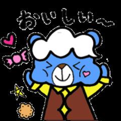 Bear Cloud sticker
