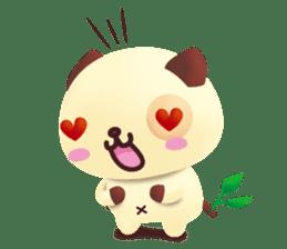 Pandadog and Friends 3D sticker #4564954