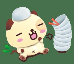 Pandadog and Friends 3D sticker #4564955
