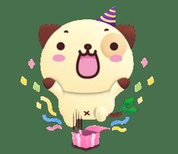 Pandadog and Friends 3D sticker #4564957