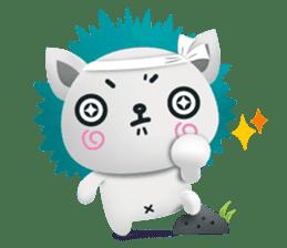 Pandadog and Friends 3D sticker #4564974