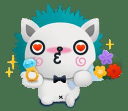 Pandadog and Friends 3D sticker #4564976