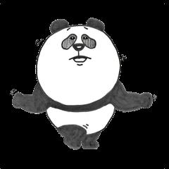シロクロクマ(パンダ)